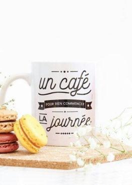 Mug graphique café