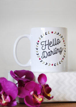 mug hello darling