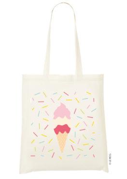 Tote bag Ice cream summer