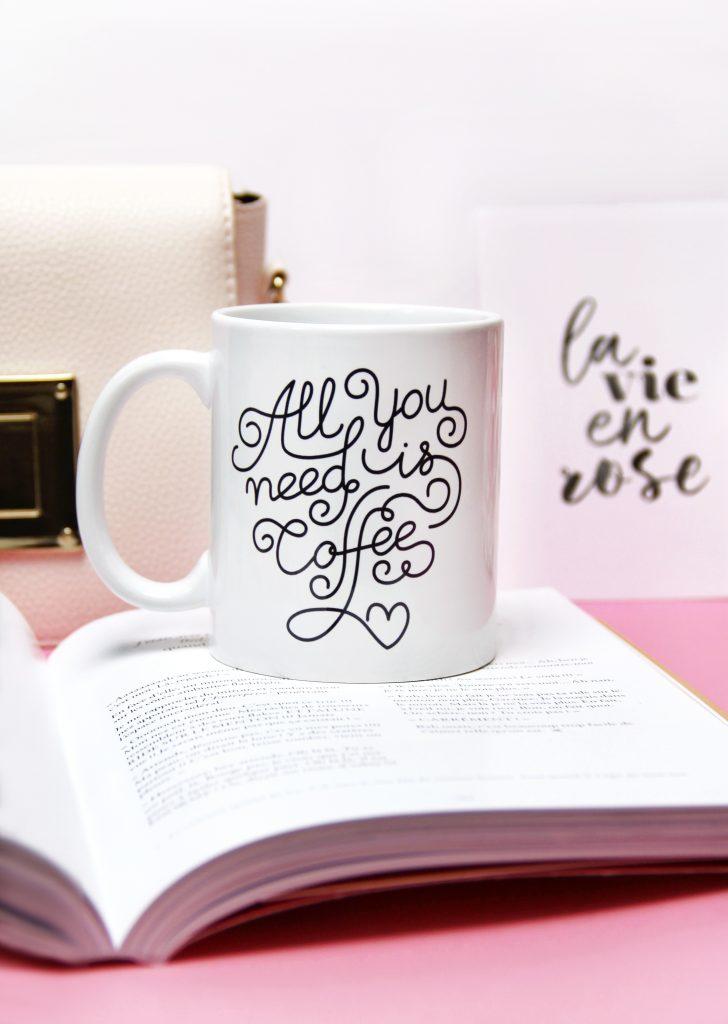 mug addict de café