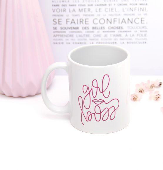 mug girl boss, working girl